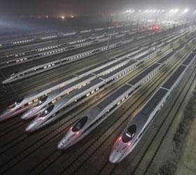 В Китае запущена самая длинная в мире железная скоростная дорога