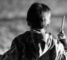 В Америке за хранение оружия был арестован одиннадцатилетний мальчик