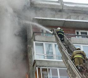 Взрыв из-за натяжных потолков