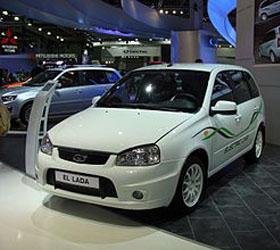 В Кисловодск отправили первые экземпляры электромобилей EL Lada