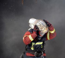 В Подмосковье на складе строительных материалов возник крупный пожар