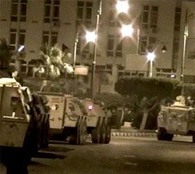 Армией Египта в Суэц были введены танки
