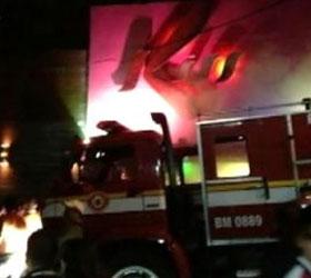 Жертвами пожара в бразильском ночном клубе стали двести сорок пять человек