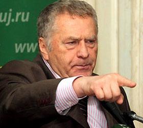 Жириновский был обкидан квашеной капустой