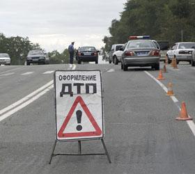 Авария в Подмосковье – столкнулась маршрутка и легковой автомобиль