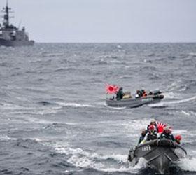 Сегодня начался наземный поиск рыбаков со шхуны, затонувшей в Приморье