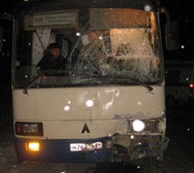 Под Каменском-Уральским школьный автобус попал в аварию