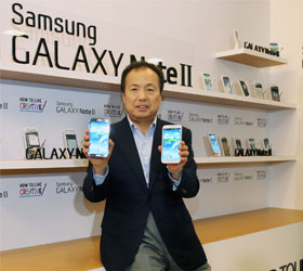 Samsung обогнала Apple и Nokia вместе взятые