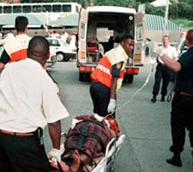 Столкновение двух поездов в ЮАР