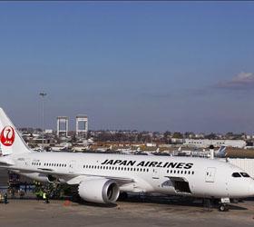 В бостонском аэропорту загорелся самолет Boeing-787