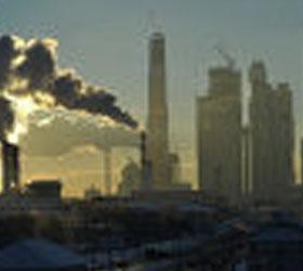"""В """"Москва-сити"""" огонь вспыхнул на уровне двадцать второго-двадцать третьего этажей"""
