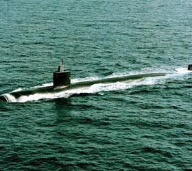 В Персидском заливе столкнулась с судном американская подлодка