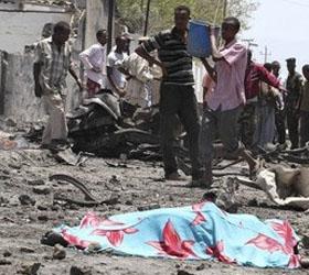 У здания президентского дворца в Сомали прогремел взрыв