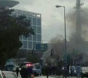 В центре Тель-Авиве взорвался автомобиль начиненный взрывчаткой