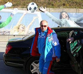 Владимир Путин провел инспекцию олимпийских объектов в Сочи