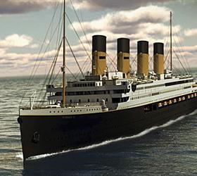 В 2016 году в Нью-Йорк отправится точная копия «Титаника»