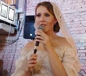 Ксения Собчак, вышедшая замуж тайком, удивлена ажиотажем вокруг своей свадьбы