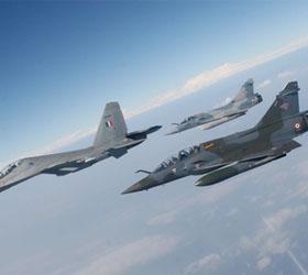 Французские ВВС атакованы позиции боевиков на севере Мали