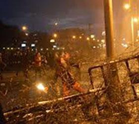 Демонстранты в Египте подожгли вход во дворец «Аль-Иттихадия»
