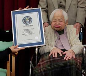 114-летняя японка признана старейшей жительницей Земли