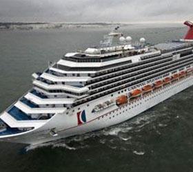 Заложниками круизного лайнера стали три тысячи пассажиров