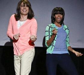 Танец первой леди США стал хитом на YouTube