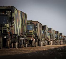Первый груз НАТО прошел в Афганистан через Ульяновск