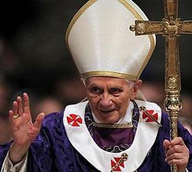 Последняя месса Бенедикта шестнадцатого в соборе Святого Петра