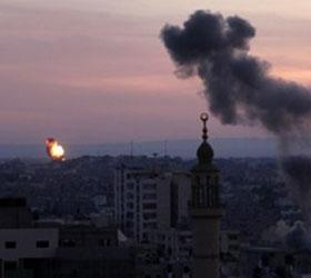 Боевиками из сектора Газа был нанесен ракетный удар по Израилю