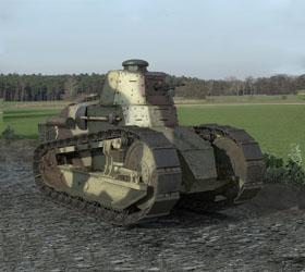 Власти Афганистана передали Польше утраченный век назад танк «Рено ФТ-17»