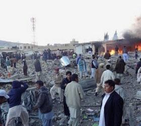 В Пакистане на рынке произошел теракт