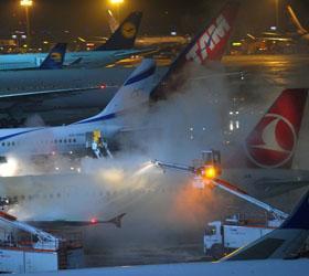 В Америке из-за непогоды были отменены несколько сотен авиарейсов