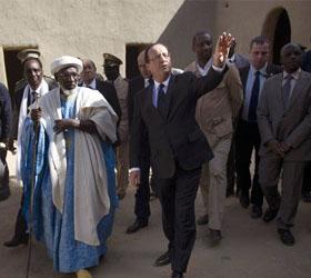 Франсуа Оланд прибыл в город Тимбукту