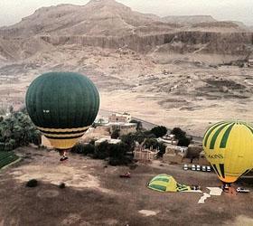 Из-за трагедии, произошедшей в Египте, там запретили летать на воздушных шарах