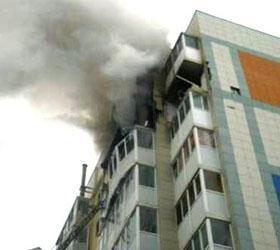 В Хабаровске в жилом доме произошел взрыв газа