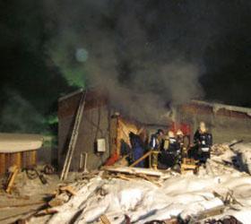 Взрыв в Сыктывкаре