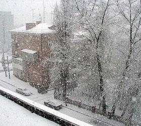 Снегопад в столице стал причиной задержки ста пятидесяти пяти рейсов