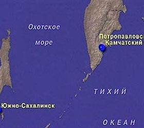 На востоке Камчатки произошло землетрясение