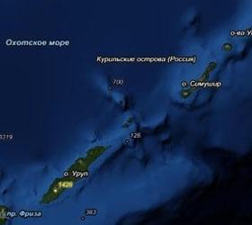 Землетрясение на Курилах