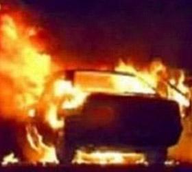 В Сочи произошел массовый поджог автомобилей