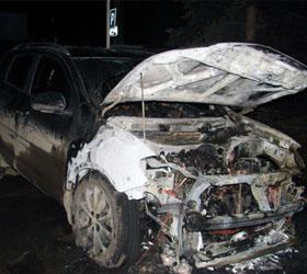 Иномарка помощника прокурора найдена сгоревшей, а сам он пропал