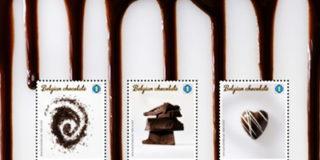 Шоколадные Бельгийские марки