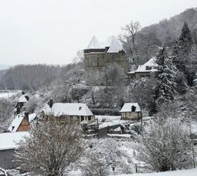 В связи со снегопадом во Франции введен наивысший уровень предупреждения