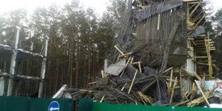 В Уфе рухнула гостиница