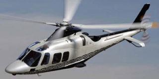 Премьер-министр РФ Дмитрий Медведев добирался домой на вертолете.