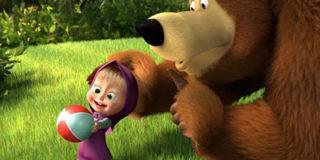 Маша и Медведь: о детях и для детей