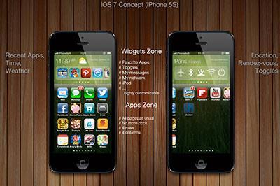 iOS 7 – новые подробности