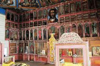 На Пасху сгорела церковь