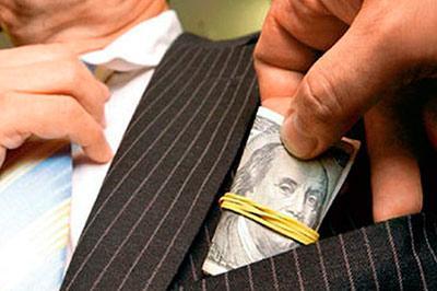 Россия и Украина в пятерке лидеров по коррупции