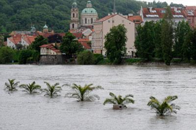 Прага стала городом катастрофой